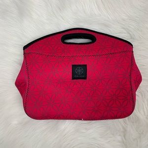 Gaiam hot pink lunch tote
